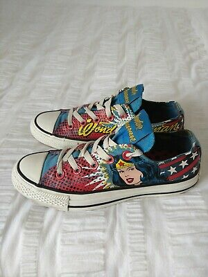 10886e216d83 Converse All Star  DC Comics  Ltd Edition Wonder Woman Ladies Trainers
