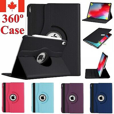 For Apple iPad 12.9 Inch 2018 Case Leather 360 Stand Rotating Shockproof Cover
