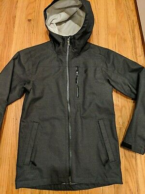812e3d1a8eb7 USED VINTAGE NIKE STORM FIT JACKET WATERPROOF HOODED GREY sz XS EXTRA SMALL  nsw