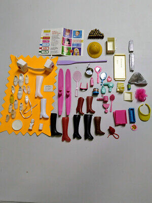Lot of 40 pieces Barbie Doll Mixed Accessories.