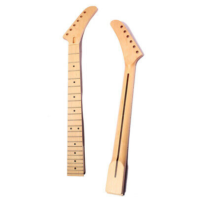 22 Frets Maple Electric Guitar Neck DIY Neck For Jackson Style Guitar Parts