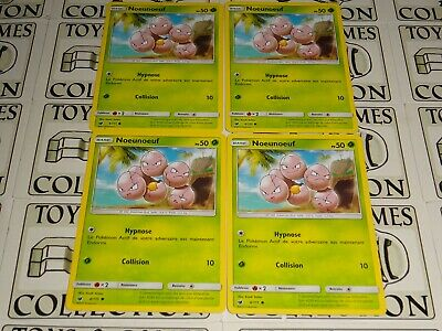 CARTES POKEMON X4 TYLTON 79//111 INVASION CARMIN VF NEUF SL4