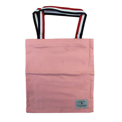 42f9b1bdd Reusable Eco Shopping Tote Foldable Grocery Fabric Shoulder Carry Handbag  Pink