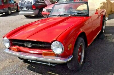 1972 Triumph TR-6  1972 Triumph TR6 Small Block Chevy V8-AT-Much Work Done-Much Left To Do-Project