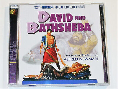 Alfred Newman DAVID AND BATHSHEBA Gregory Peck Soundtrack Limited Intrada CD NM