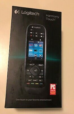 aae8991a1c2 Logitech Harmony Touch Universal Remote with Color Touchscreen - Black NIB