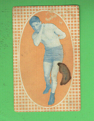 #d463.   1914  Nat Williams  Boxing Advertising Card