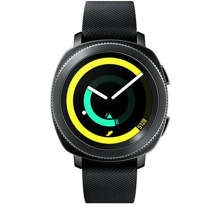 Samsung Gear Sport SM-R600NZKCXAR Super AMOLED Bluetooth Smartwatch