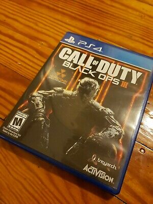 Playstation 4 Call of Duty Black Ops III 3 PS4  Authentic US FREE SHIPPING