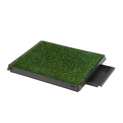 Puppy Pet Potty Mat Training Pee Indoor Toilet Dog Cat Grass Pad Mat Turf Patch