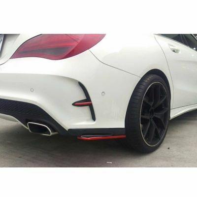 Mercedes Benz W117 CLA45CLA250 Aero Carbon rear bumper splitter side splitter