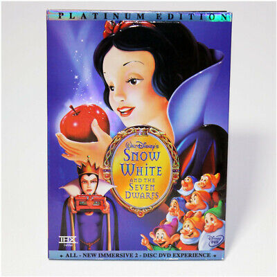 Snow White and the Seven Dwarfs (DVD ,2001, 2-Disc Set) Free Shipping From USA