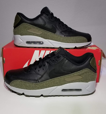 brand new e62db 1aa45 Athletic Shoes NIKE AIR MAX 90 HAL SZ 8.5 PATCH LOGO BLACK OLIVE GREEN  SILVER AH9974 ...