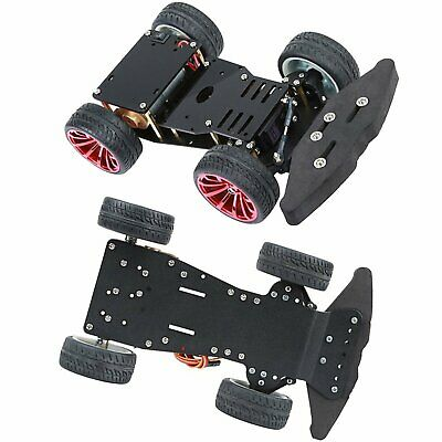 4WD Smart Robot DIY Set RC Car Chassis Metal Motor Bearing Backwheel Conenct Rod