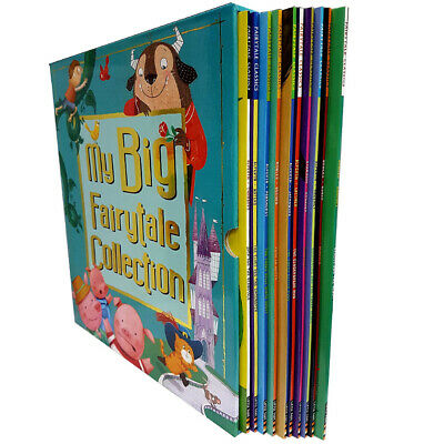 My Big Fairytale 10 Books Collection Set Children's Pack By Mara Alperin NEW