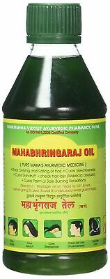 Mahabhringaraj Oil, 100ml Eclipta alba Brahmi Amla Hair Growth Oil MahaBhringraj