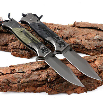BROWNING 0512 Camping Folding Knife Outdoor Tactical Pocket Blade Survive Tools