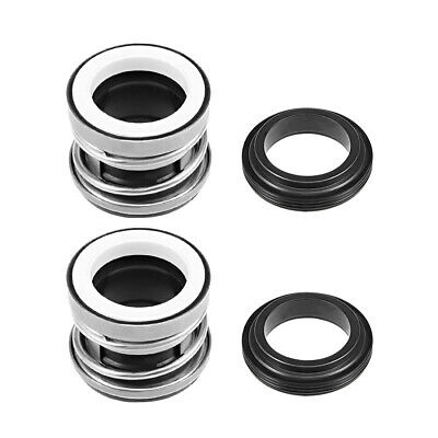 Mechanical Shaft Seal Replacement for Pool Spa Pump 2pcs 104-25