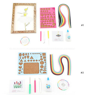 8PCS Paper Quilling Tool Quilled Creations DIY Paper Curling Tool Craft Supplies
