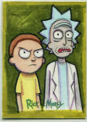 Cryptozoic Rick and Morty Season 1 Nathan Szerdy Sketch