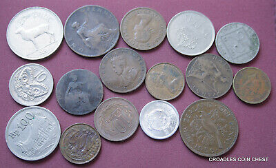 Mixed World Coin's General Mix Modern World 90 Grams Plus  #Pzm30