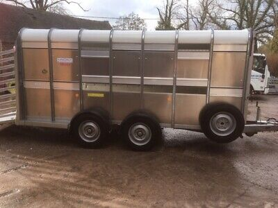 Ifor Williams Ta510 14Ft Cattle Trailer L1238 Year 2019