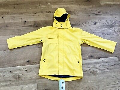 New With Tags Kids Yellow Hatley Raincoat Size 10
