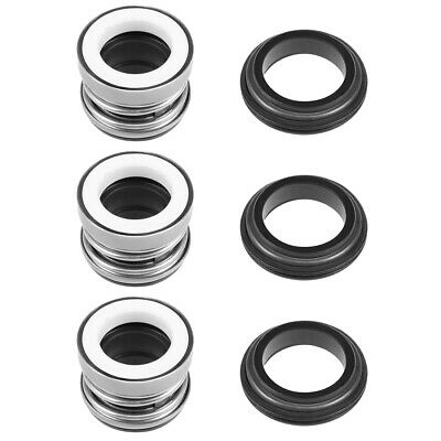 Mechanical Shaft Seal Replacement for Pool Spa Pump 3pcs 104-16