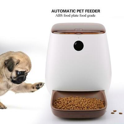 Automatic Cat Pet Smart Feeder App Control Dog Food Dispenser with WiFi Camera