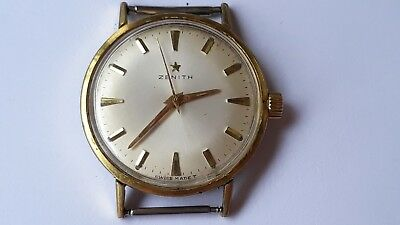 Vintage ZENITH 17 Jewels 2542 Mechanical Men's Watch
