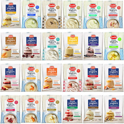 Easiyo Mega Pack Yogurt Sachets -  24 Mixed Sachets - Great Price, Great Choice