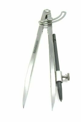 "Ramelson 12"" Wing Compass Caliper Divider with Brass Holder with Carbide Scribe"