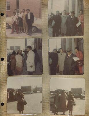 WOODIE KING BROWN MARTIN LUTHER photo album rare aunt civil rights Coretta WOW!!
