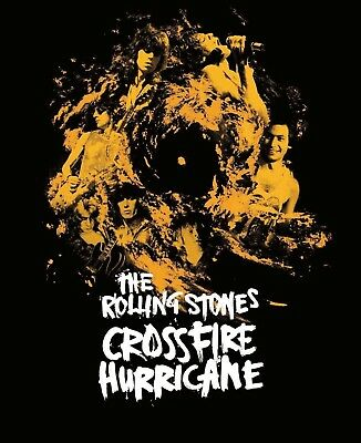 The Rolling Stones - Crossfire Hurricane (Bluray) Eagle Vision  Blu-Ray New!