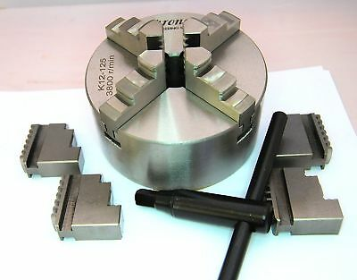 125 MM 4 Jaw Self Centering Lathe Chuck K12125 From Chronos