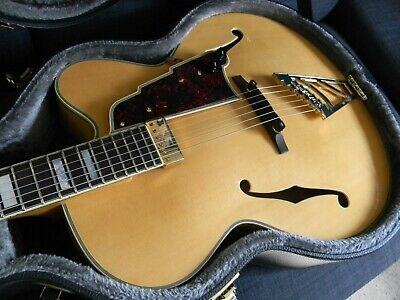 2016 D'Angelico Excel EXL-1  Natural Hollowbody Archtop Jazz Guitar  W/HSC