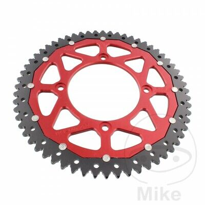 ZF Dual Red Rear Sprocket (60 Teeth) Beta RR 50 Motard 2015