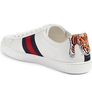 808a4cba4b6 GUCCI ACE SNEAKERS Hanging Tiger RARE SOLD OUT New in Box 9G (10US ...