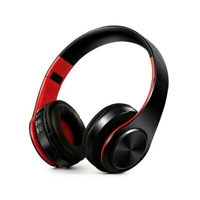 HIFI stereo earphones bluetooth headphone music headset FM and support SD card