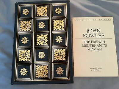 THE  FRENCH LIEUTENANT'S WOMAN John Fowles Signed 60 Franklin Library