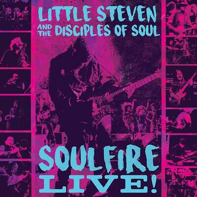 The Little Steven/Disciples Of Soul - Soulfire Live! (Blu-Ray)  2 Blu-Ray New!