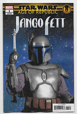 Star Wars Age Of Republic Jango Fett #1 Movie Variant Cover 1St Print Nmt 2019