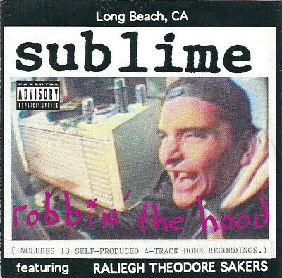 Sublime - Robbin' the Hood (CD)  NEW/SEALED  SPEEDYPOST