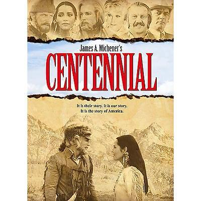 Centennial The Complete Series (DVD, 2013, 6-Disc Set) Brand New