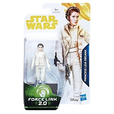 "Star Wars Solo Movie Basic 3.75"" Action Figure - Princess Leia Organa (Hoth) NEW"