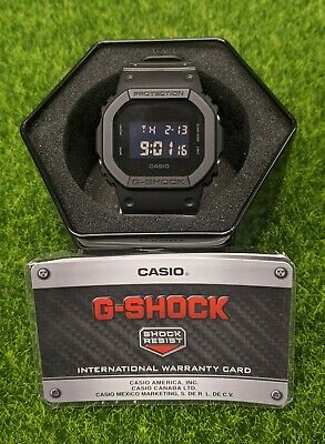Casio G-Shock Black Water Resistant Digital Mens Watch - DW5600BB-1