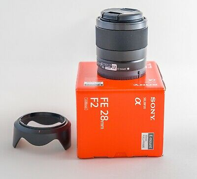 Sony FE 28mm f/2 Lens Excellent Plus