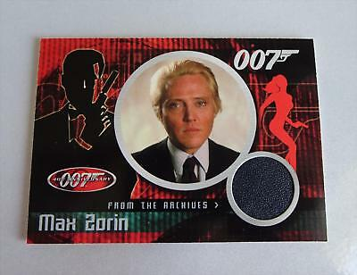 Max Zorin/ Christopher Walken James Bond Cc2 A View To A Kill Case Costume Card