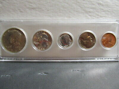 "1964 Official U.S. Mint Set. Complete and original.5 COINS ""P"" ONLY"