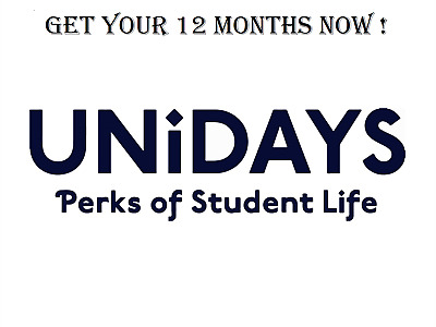 Unidays US Verified Account 12 Months Fast Delivery